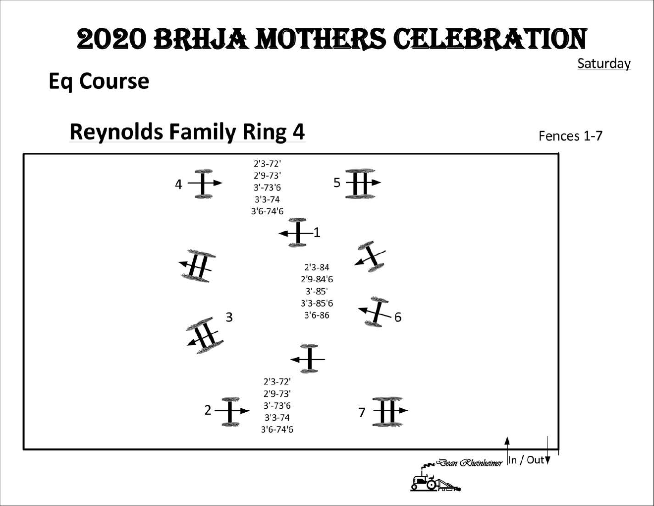 SingleOxer.com BRHJA Mothers Celebration Saturday 5-30 Ring 4 Adult Equitation