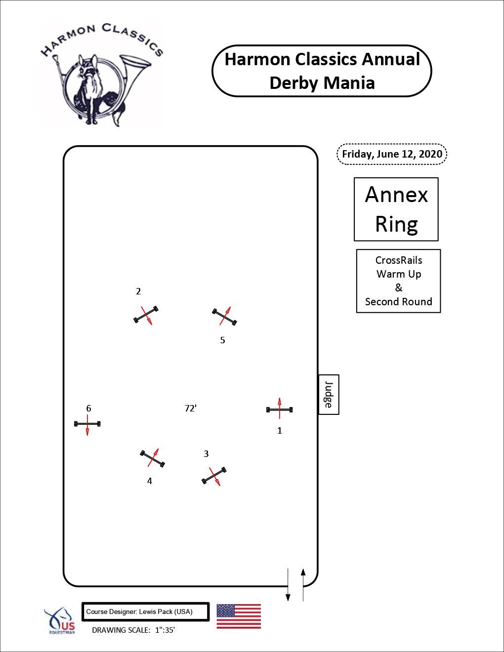 Annex-Ring-Friday6-12-Crossrails-Warm-Up-and-Second-Round-Harmon-Classics-Derby-Mania