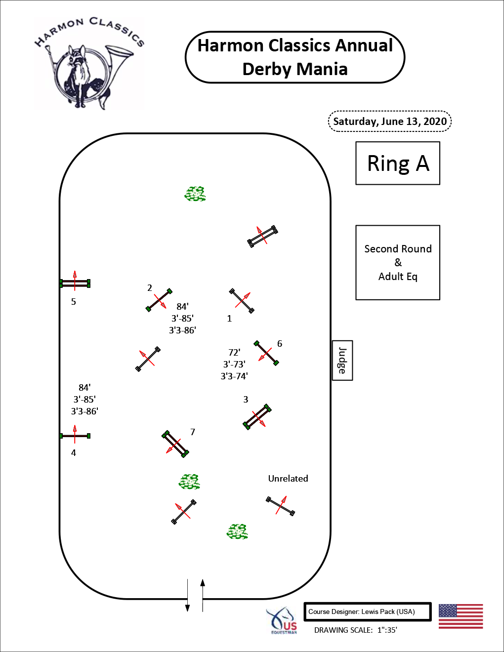 Ring-A-Saturday6-13-Second-Round-and-Adult-Equitation-Harmon-Classics-Derby-Mania