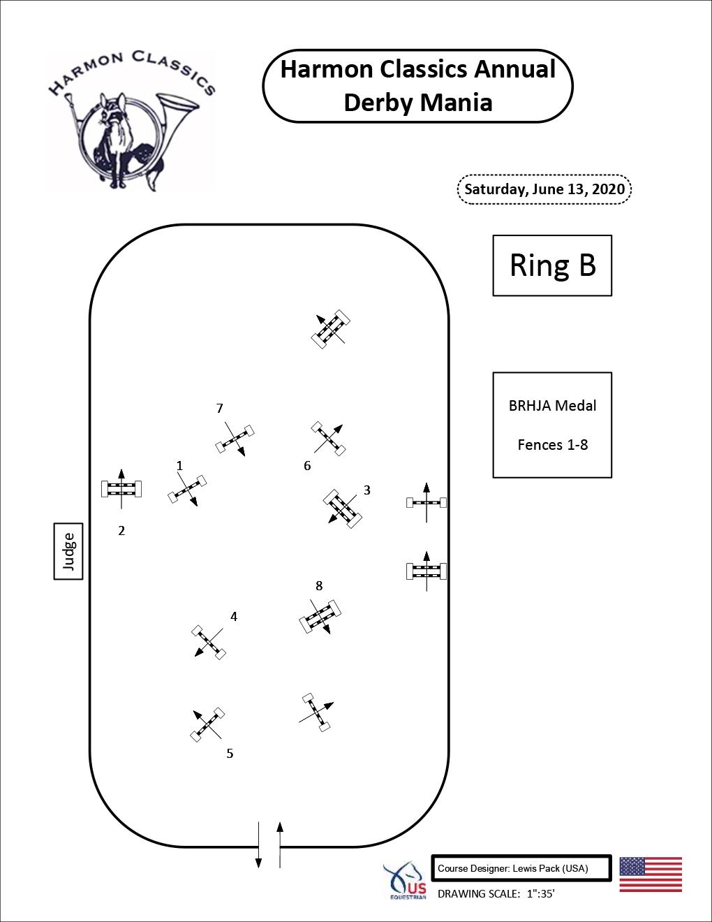 Ring-B-Saturday6-13-BRHJA-Medal-Harmon-Classics-Derby-Mania
