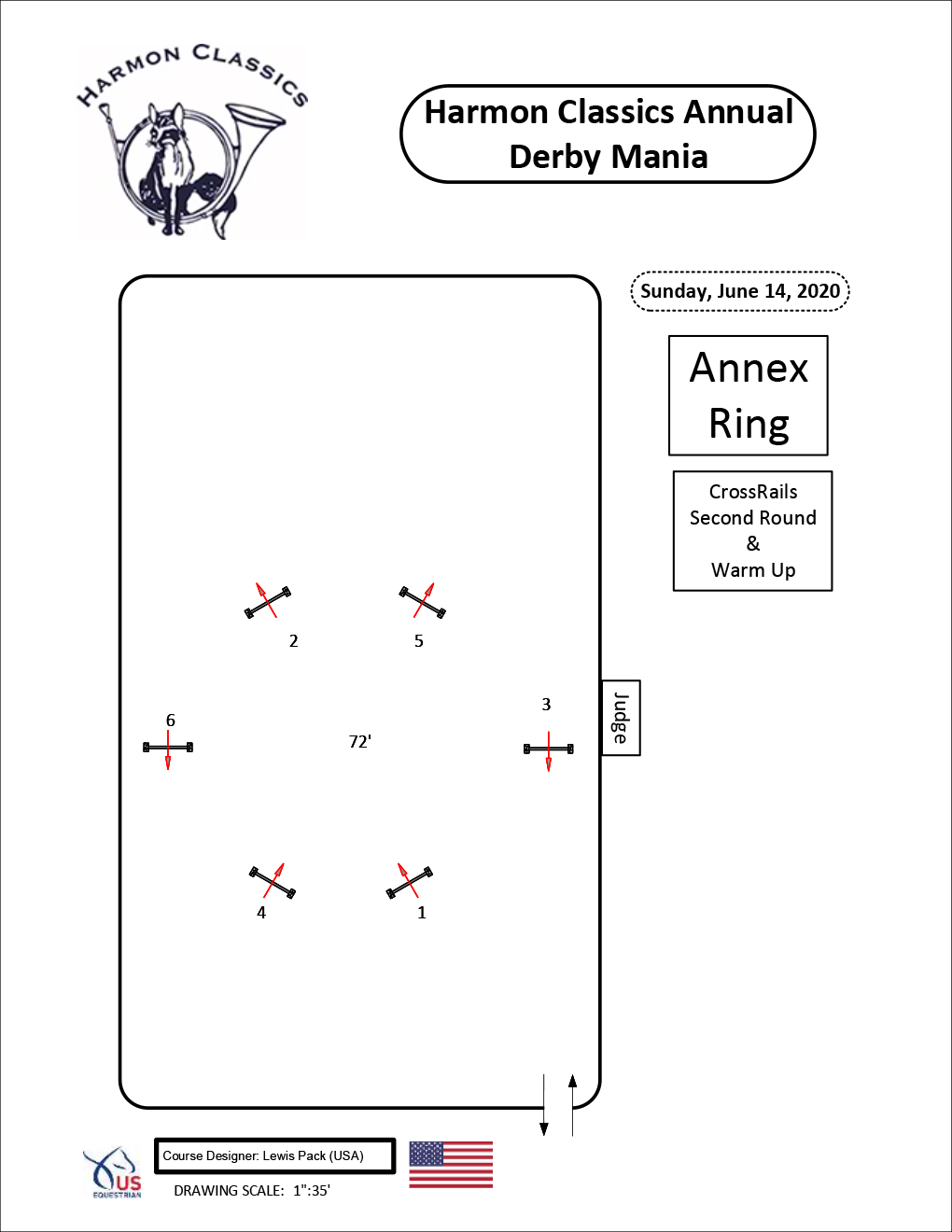 Annex-Ring-Sunday6-14-Crossrails-Warm-Up-and-Second-Round-Harmon-Classics-Derby-Mania