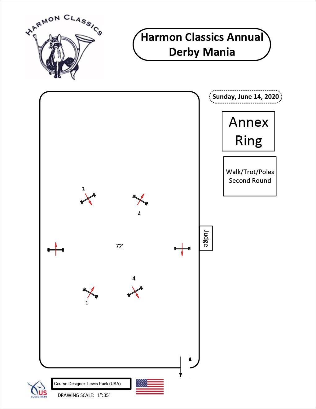 Annex-Ring-Sunday6-14-Walk-Trot-Poles-Second-Round-Harmon-Classics-Derby-Mania