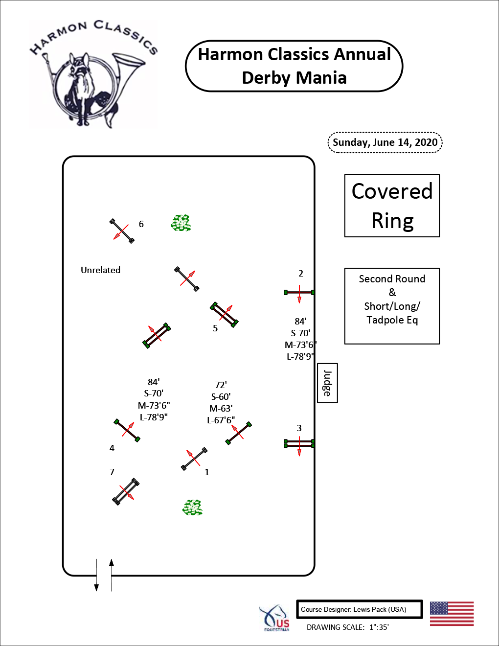 Covered-Arena-Sunday6-14-Second-Round-and-Short-Long-St-Tadpole-Eq-Harmon-Classics-Derby-Mania