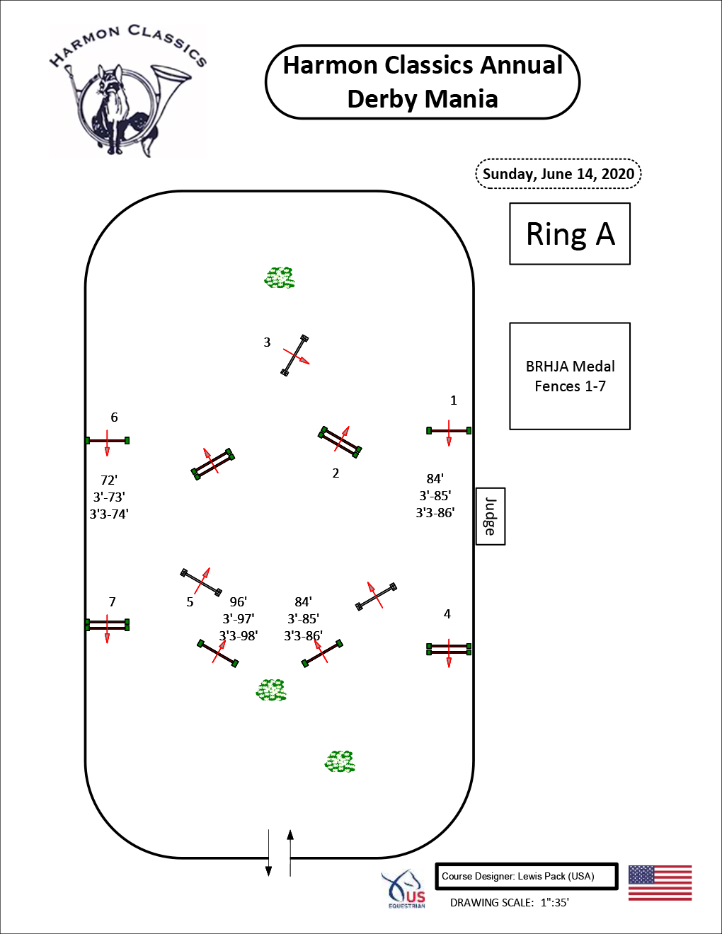 Ring-A-Sunday6-14-BRHJA-Medal-Harmon-Classics-Derby-Mania