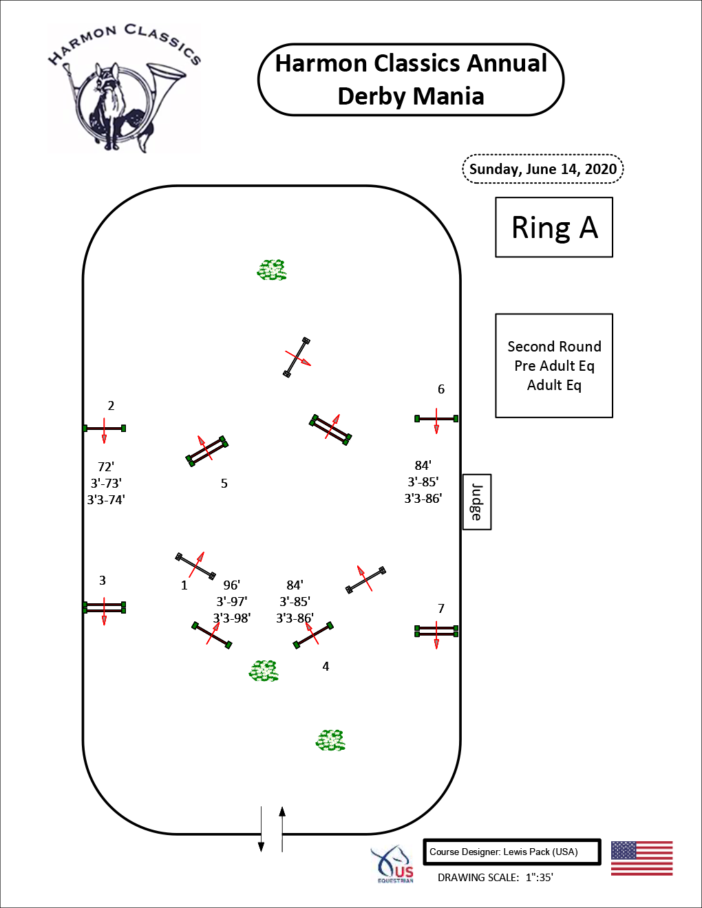 Ring-A-Sunday6-14-Second-Round-Pre-Adult-Equitation-and-Adult-Equitation-Harmon-Classics-Derby-Mania