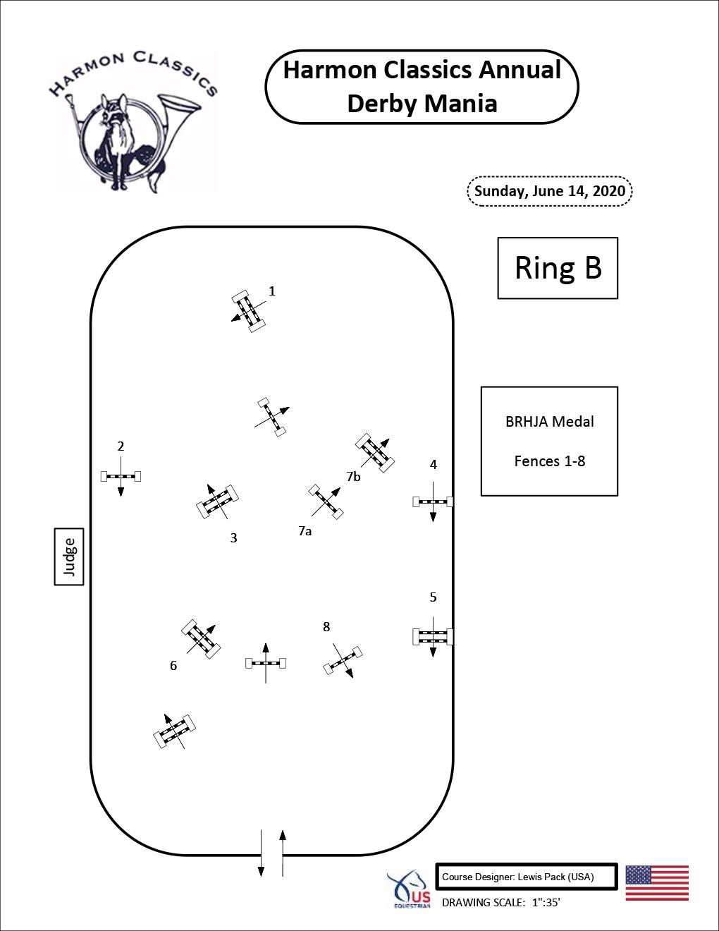 Ring-B-Sunday6-14-BRHJA-Medal-Harmon-Classics-Derby-Mania